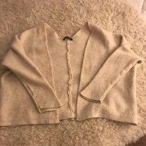 Brandy Melville crop cardigan coat